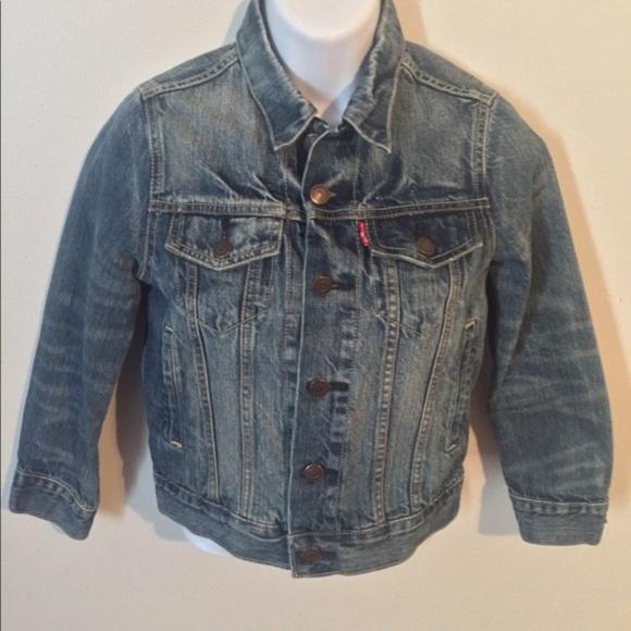 Levi's Denim Jean Jacket Size Small